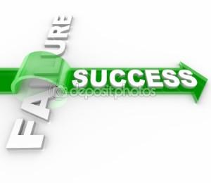 dep_5777746-Success-Vs-Failure---Overcoming-an-Obstacle-to-Reach-Goal